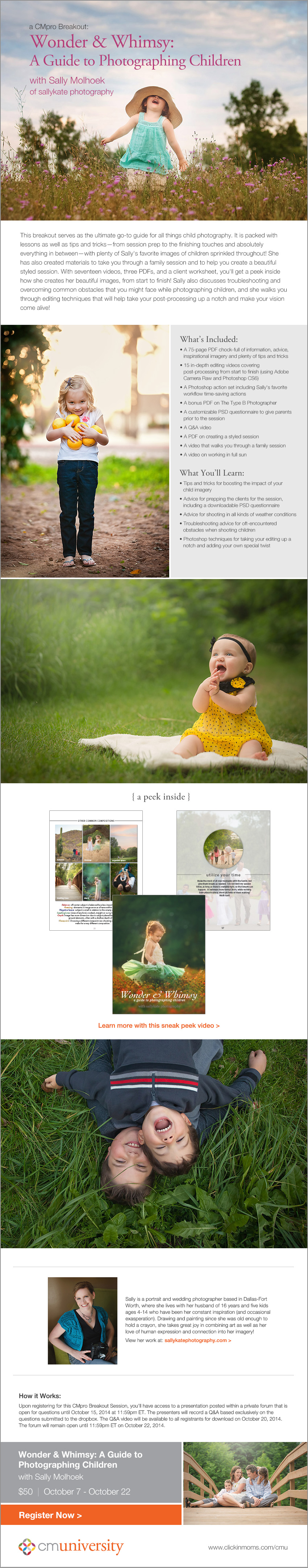 Wonder & Whimsy: A Guide to Photographing Children