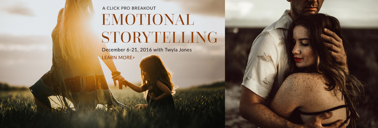 Learn about the Breakout : Emotional Storytelling