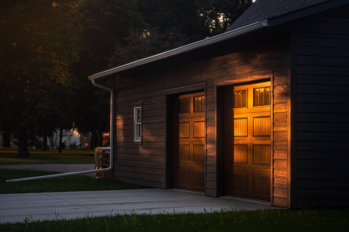 Last Light on the Carriage House-1